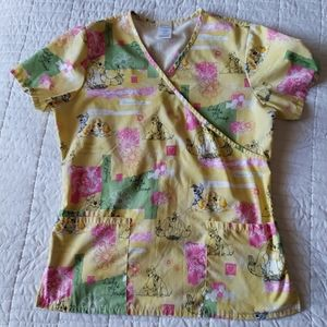Disney Lady and the Tramp Scrub Top